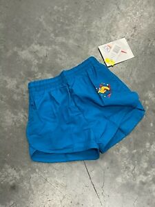 Vintage 90s Retro Runners Boys Shorts Choose your color RED BLUE GREEN Size 7