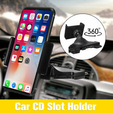 Universal CD Player Slot Car Auto Mount Holder Cradle For Mobile Smart Phone GPS