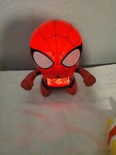 Marvel ultimate SPIDER MAN Bulb Botz Light Up Figure Alarm Clock