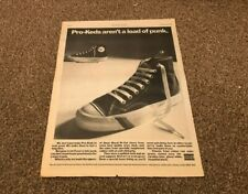 """25/2/78PN30 POSTER SIZE ADVERT 15X11"""" PRO-KEDS SHOES FROM UNIROYAL.."""