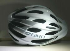 GIRO REVEL ADULT UNIVERSAL FIT Bike Helmet WHITE/SILVER NEW IN BOX WITH MANUAL