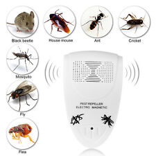 Plug-in Electronic Ultrasonic Anti Rat Mouse Bug Mosquito Flea Pest Repeller