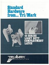 Tri/Mark 48 Series Compartment Latch Spec Sheet  On & Off Highway Equipment