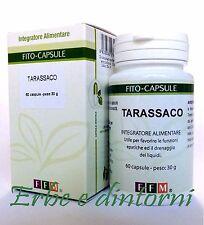 TARASSACO ESTRATTO SECCO TITOLATO 60 CAPSULE - Depurativo, diuretico