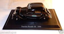 NOREV ATLAS CITROEN TRACTION ROSALIE IX HUILES YACCO 1934 1/43 IN BOX