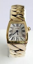 Ladies CARTIER 2903 La Dona 18k Solid Yellow Gold Quartz Luxury Watch (00489)
