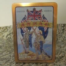 Unibic Anzac Gallipoli Limited Edition Biscuit Tin