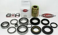 Rear Differential & Axle Bearing Seal Kit AND Pinion Tool Honda TRX 420 Rancher