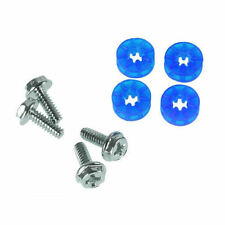 Lamptron HDD Screws & Rubber Washers  (4 Pieces) - UV Blue