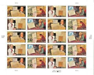Ben Franklin US 20 x 39c Sheet Postage Stamps Scott 4021-24 MNH Mint