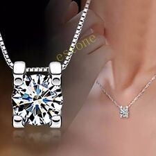 The Only Love Women Crystal Necklace AAA Cubic Zirconia Pendant Fashion Jewelry