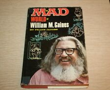 New listing The Mad World Of William Gaines by Frank Jacobs Hardcover Hc 1st Print Ec Comics