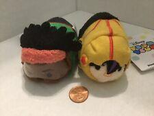 """NWT Disney Parks AUTHENTIC Big Hero 6 Set Of 2 Mini Plush 3.5"""" Doll Tsum Tsum"""