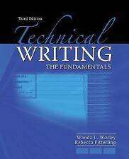 Technical Writing: The Fundamentals