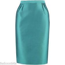 LK Bennett Pencil Skirt UK 16 Turquoise Party Streamline Classic Retro New NWT