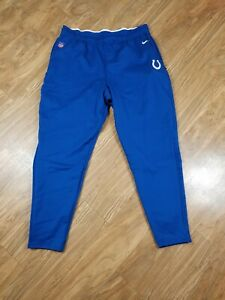 NEW Nike Indianapolis Colts On Field Therma Sweatpants Pants MEN'S size 2XL XXL