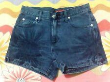 PER UNA Women's Denim High Waist TIE & DYED Shorts Jeans Hot-pants Size 6 8 10