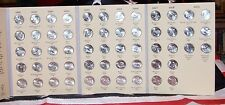 50 STATES QUARTER SET DE-HI, DC + US TERRITORIES FOLDER STATEHOOD COLLECTION NR