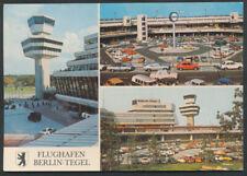 Flughafen  Berlin Tegel  Mehrmotivkarte  col gest.