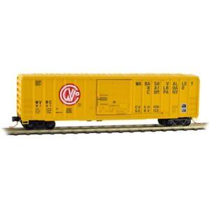 Z Scale - MICRO-TRAINS LINE 510 00 320 WABASH VALLEY 50' Rib Side Box Car