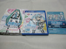7-14 Days to USA.W/AR Marker. VITA Hatsune Miku Project Diva f Japanese Version