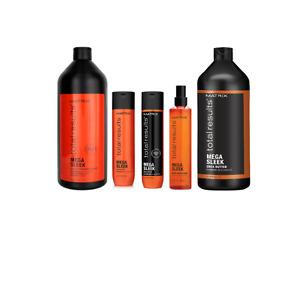 Matrix Total Results Mega Sleek Shampoo, Conditioner, Treatments & Pumps