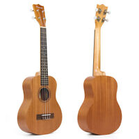 Kmise Tenor Ukulele Ukelele Uke 26 Inch Sapele 18 Fret Bone Nut and Saddle