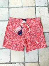 Mens Red Swimshort Lightning Bolt Size 36