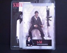 Scarface The Fall Action Figure Machine Gun And Clip Black Suit 2005 By Mezco