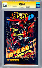 SPAWN #1 CGC-SS 9.6 3-D MOCCA EXCLUSIVE *SIGNED SPAWN ARTIST TODD MCFARLANE 2006