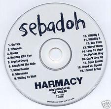 SEBADOH Harmacy 1996 UK 19-track promo CD Domino