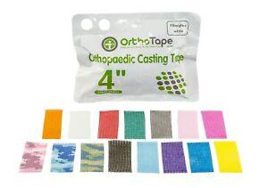 OrthoTape Fiberglass Casting 10 cm x 3.6 m   Cast Tape  Materials -1 ROLL