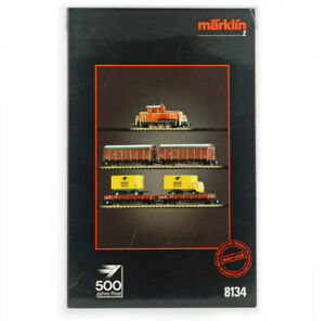 MARKLIN MINI-CLUB 8134 Z GAUGE DB Postal Set , 500 Jhare Commemorative Edition