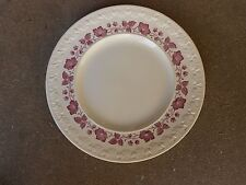 Wedgewood CLEMATIS Mulberry Dinner Plate Corinthian England