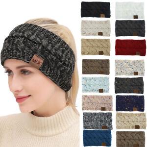 Head Wrap Ladies Knitted Turband Headband Hairband Hair Accessories Winter Warm