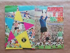 Album Campeonato De Liga  1964 65 Disgra Completo Di Stéfano Puskas Iríbar Luis