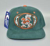 Miami Hurricanes NCAA Vintage 90's Adjustable Snapback Cap Hat - NWT