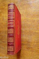 Walter Scott REDGAUNTLET Edition F.Didot 1885 illustré reliure