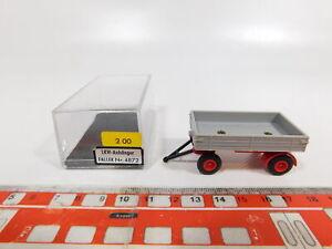 CG287-0, 5 #Faller Ams / Auto Motor Sport 4872 Truck Trailer, Mint +Box