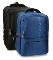 Backpack Manhattan MOVOM Black Blue Woman Man Men 31x44x15