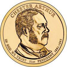 USA: 1 $ 2012 P- 1 Dollar (21 st president Chester Arthur 1881-1885) S//C