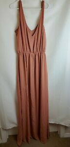 Show Me Your Mumu Womens Medium Kendall Maxi Dress DAMAGED
