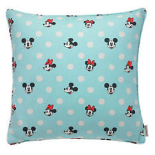 Cath Kidston x Disney Mickey & Minnie Mouse Blue Spotty Cushion GENUINE ORIGINAL