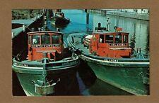 Buffalo,NY New York, Tug Boats, North Carolina & Oklahoma in Harbor