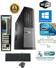 Dell PC DESKTOP Intel i7 2600 3.40g 16GB  NEW 240gb SSD Windows 10 Pro DVI