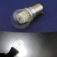 Pair P21/5W 380 LED 1157 Bulbs BAY15D AC12v 24V 3030 6 SMD Brake Tail Rear White