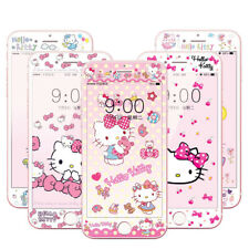 iPhone 8 Plus Hello Kitty Tempered Glass Pink Bowknot iPhone 6S Screen Protector