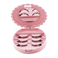 Beauty Makeup Tool Mirror Case False Eyelash Box Lashes Storage Organizer Bownot