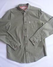 Ben Sherman Camicia Winter Moss Colletto a Bottone REG MOD Taglia media  NUOVA TA. d5eac12e914
