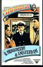 Il Prigioniero di Amsterdam (1947)  VHS Fonit Cetra  Hitchcock Joel McCrea